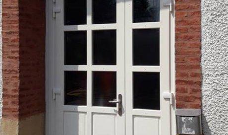 Les portes-fenêtres en bois