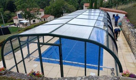 Remplacement de plexiglass sur abris de piscine à Cournon d'Auvergne