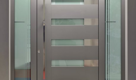 Pose de porte d'entrée aluminium à Clermont-Ferrand