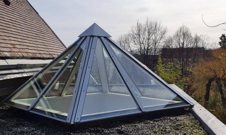 Remplacement de doubles vitrages sur châssis en toiture à Chamalières