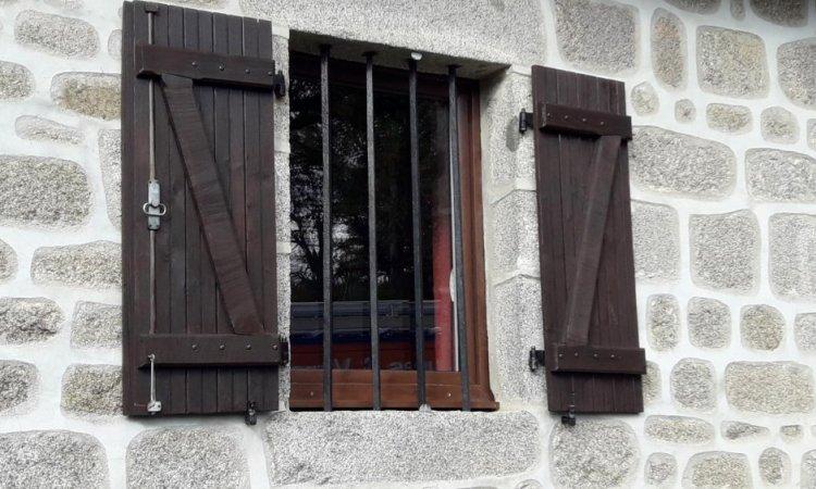 Fenêtre PVC plaxé imitation bois à Clermont Ferrand